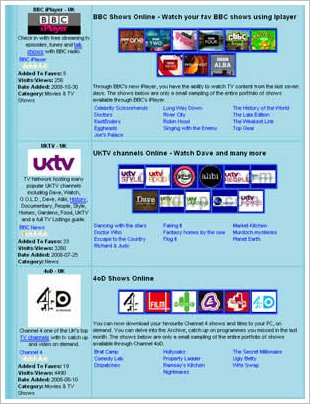 The most complete list of Catch up TV UK Networks ever!