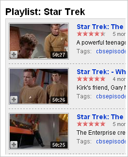 Beam me up scotty. Star Trek HD streams on Youtube