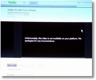 Hulu Kills PS3 Streaming TV at Request of Content Provider