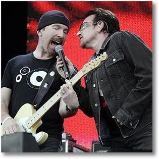 U2 Record Breaking Viewing Figures on Youtube