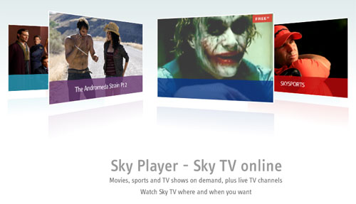 Sky are taking online tv seriously