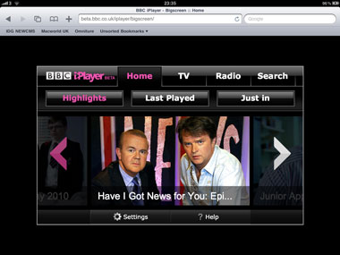 Iplayer quick to get on ipad