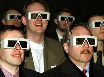 3D glasses cool or just plain silly?