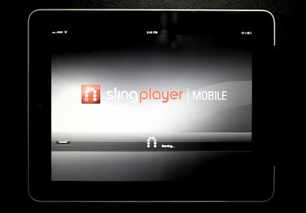 Slingplayer comes to iPad
