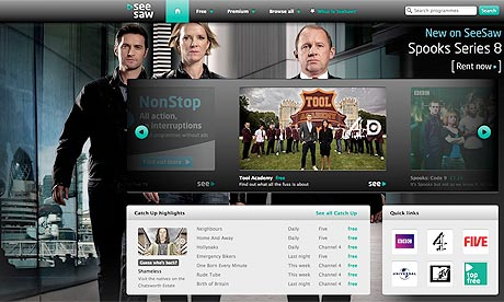 SeeSaw Online TV Venture May Be Sold As Part Of Arqiva Plan