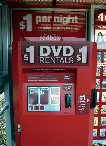 The top 10 dvd rentals at redbox kiosks for the week of nov. winds e at 10 to 20 mph. chance of rain 80% this week's top tv shows, movies, books and apps. tags.