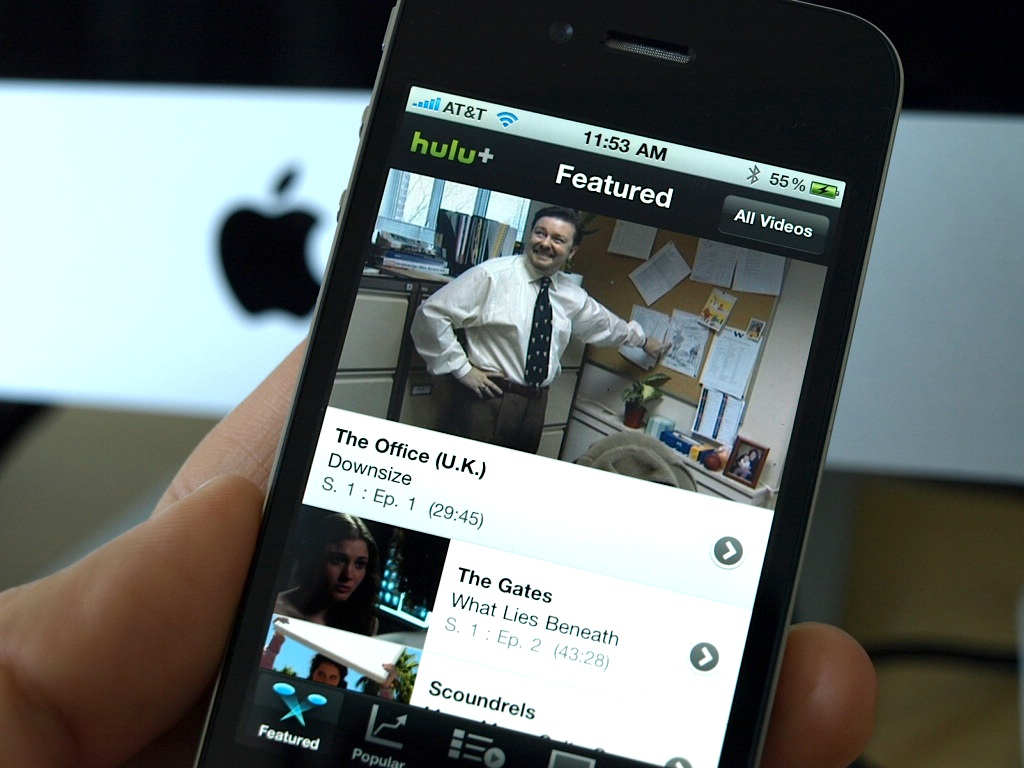 Hulu Plus on Apple gets update
