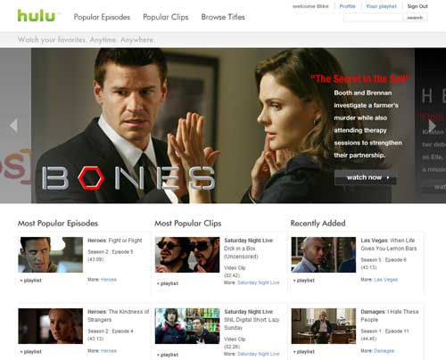 Hulu looking to extend content deals