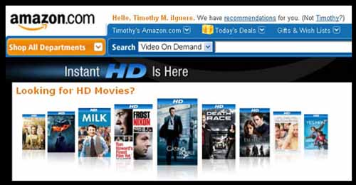 Amazon on demand content just grew