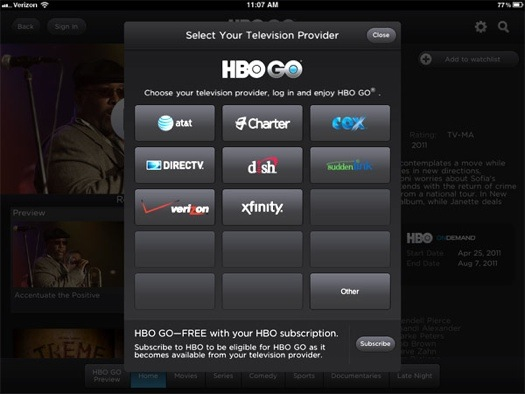 HBO Go. Millions are loving it