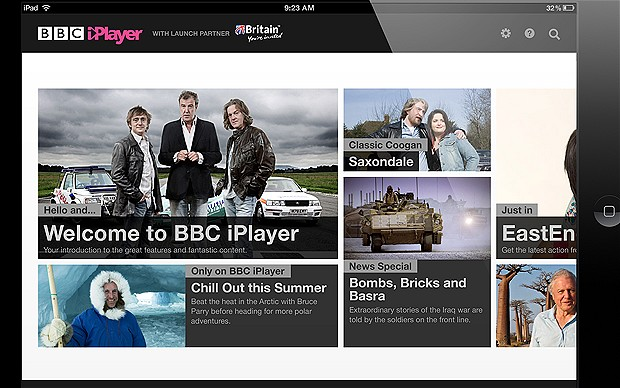 BBC Launch iPlayer App In 11 European Countries