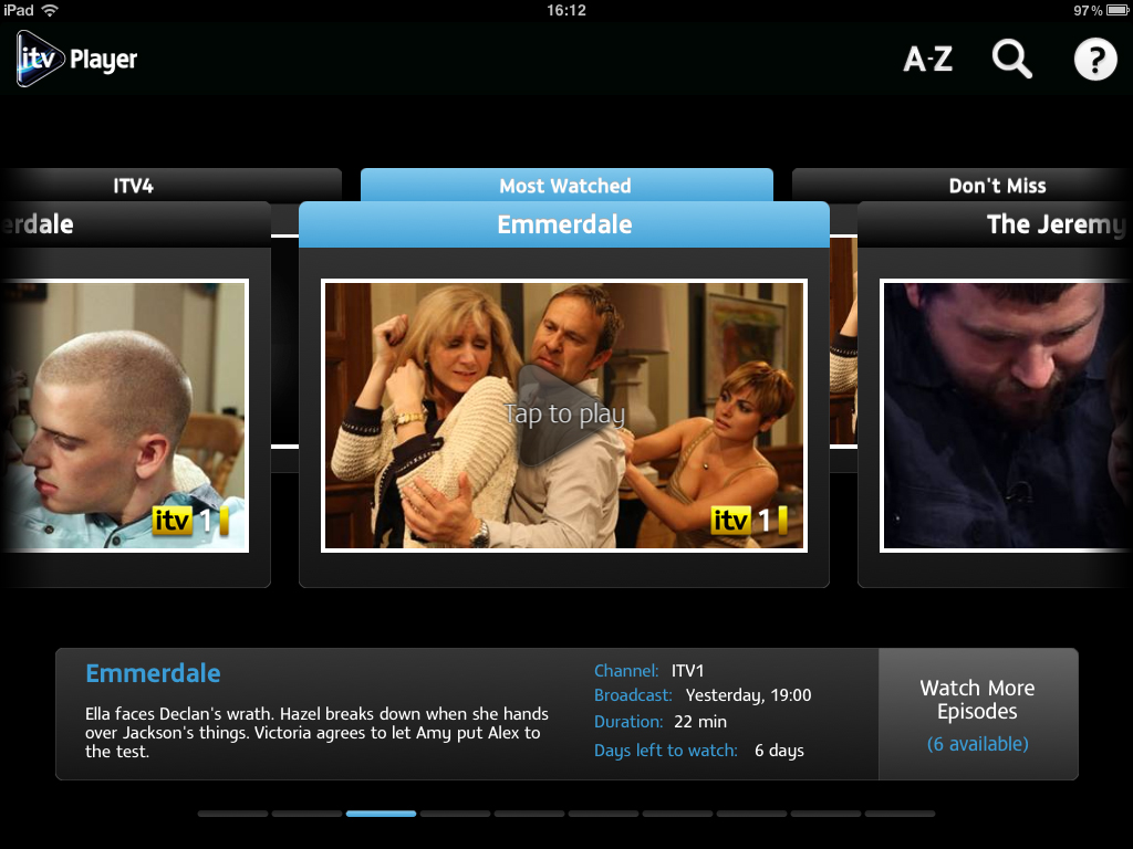 ITV Player App Comes To Apple iOS Devices