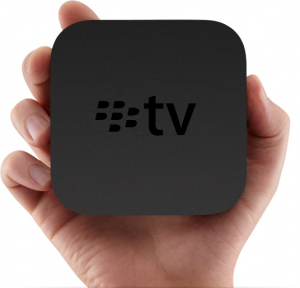RIM may be entering the online TV hardware market