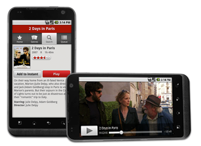 how to stream netflix from android phone to tv