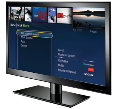Insignia web tv from the nations biggest gadget store