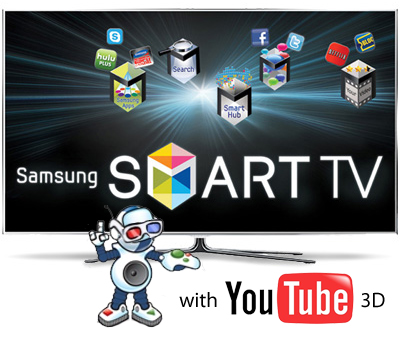 Samsung Adds 3D YouTube To Smart TVs