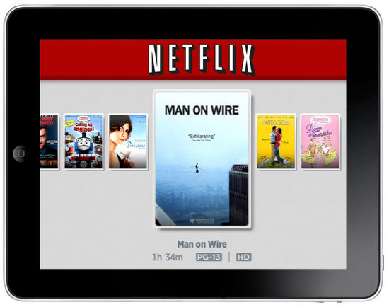 Netflix comes to Honeycomb tablets
