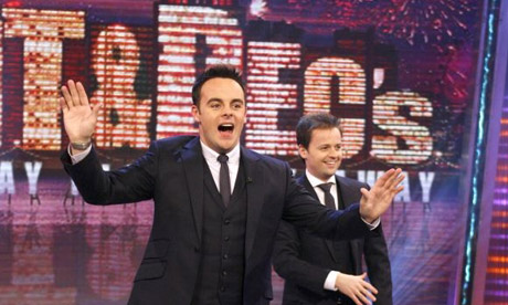 Ant & Dec Come Back To Takeaway