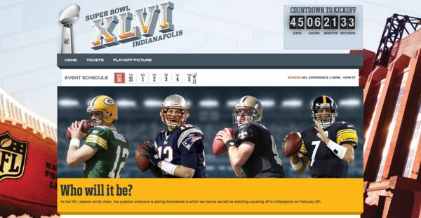 Super Bowl XLVI comes with streaming