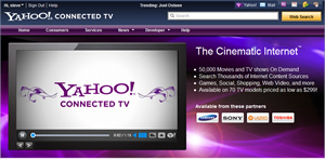Yahoo connected TV