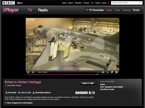 BBC Plan Subscription iPlayer For Online Archive