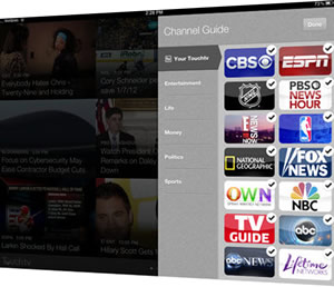 TouchTV brings trending tv to iPad and LG