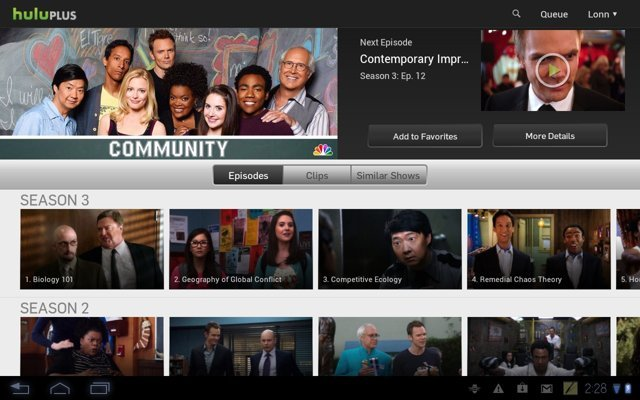 Hulu Plus Expanded To 7 New Tablets