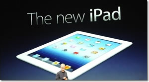 The new iPad launches