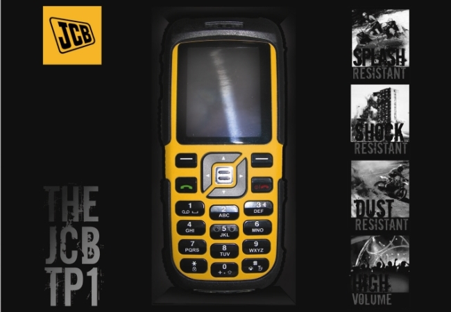 JCB Launch New Toughphones
