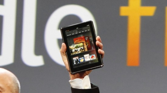 Kindle Fire To Welcome Ad Support