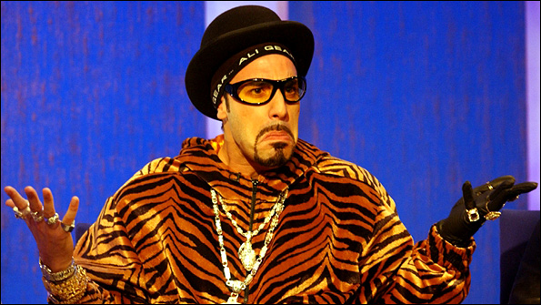 Staines Sever Ties With Ali G Through Name Change