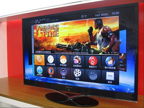 Lenovo Launch Smart TV Set For China