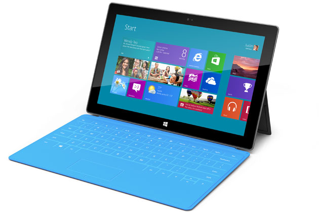 Microsoft Reveal Surface As Tablet Contender