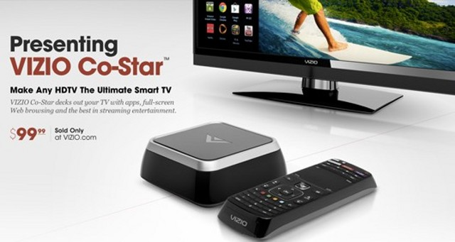 Vizio Use Google TV Base For Co-Star Connected Product