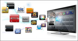 More people using smart features of TV