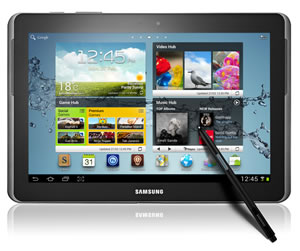 Galaxy Note 10.1 finally launched