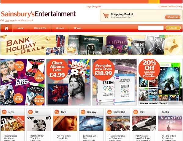 Sainsburys Launch Streaming Service As UK Online Video Market Grows
