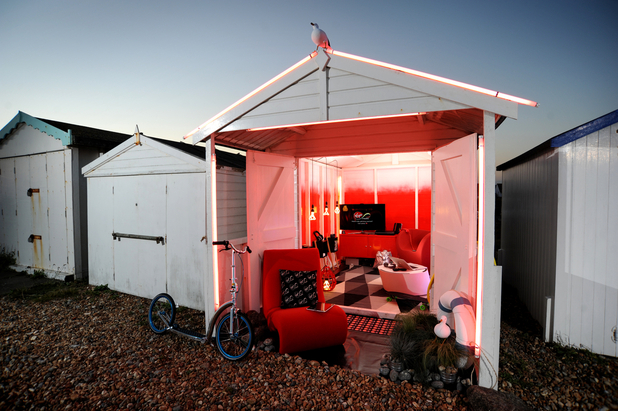 Virgin Media Launch Connected Beach Huts On English Coast