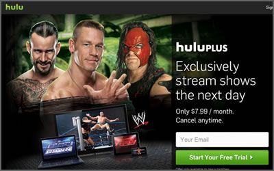 WWE streaming comes to Hulu Plus