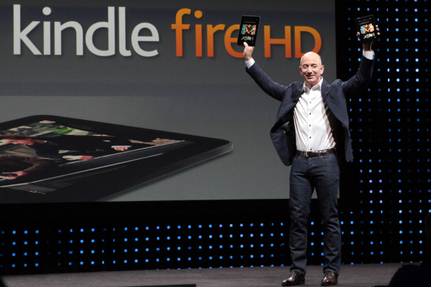 Amazon Reveal Kindle Fire HD