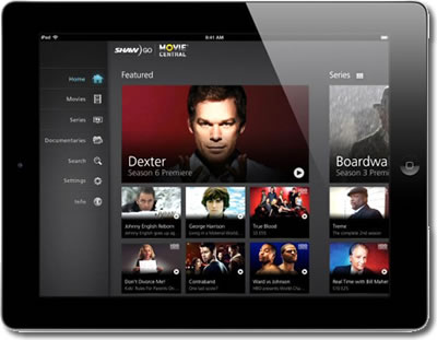 Canadian Shaw Media Launches Shaw Go Streaming App