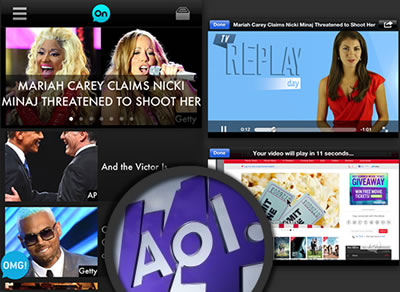 The AOL On Network Launches Apps For iOS and Android OS Devices
