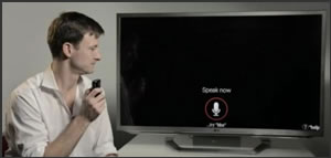 Control Google TV with voice search