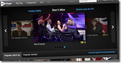 ITV Player Now Offers TV Show On-Demand Rentals