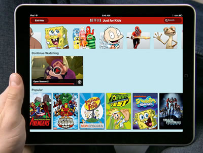 Kid friendly Netflix streaming on iPad