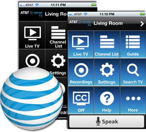 U-verse Easy Remote App brings Siri style channel changing