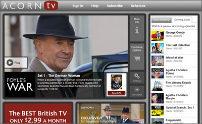 Acorn TV bringing British streaming TV to Canada