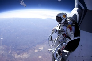 Space Freefall Breaks YouTube Live Streaming Records
