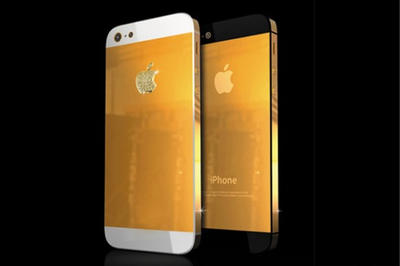 Designer Gives Golden Effect To New iPhone