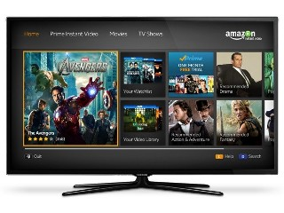 Amazon Launch Instant Video Service For Samsung Smart TVs